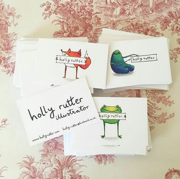 Holly Rutter business cards