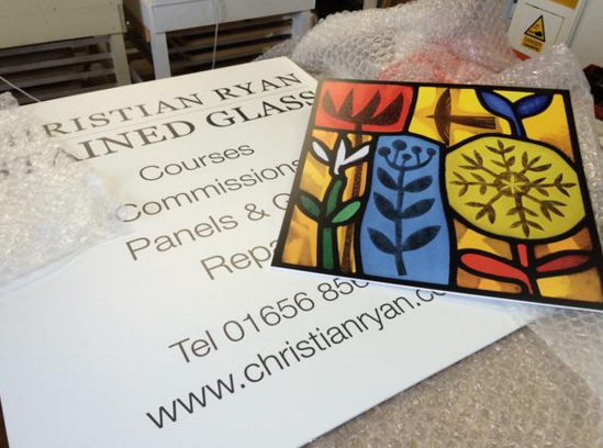 Christian Ryan outdoor signs