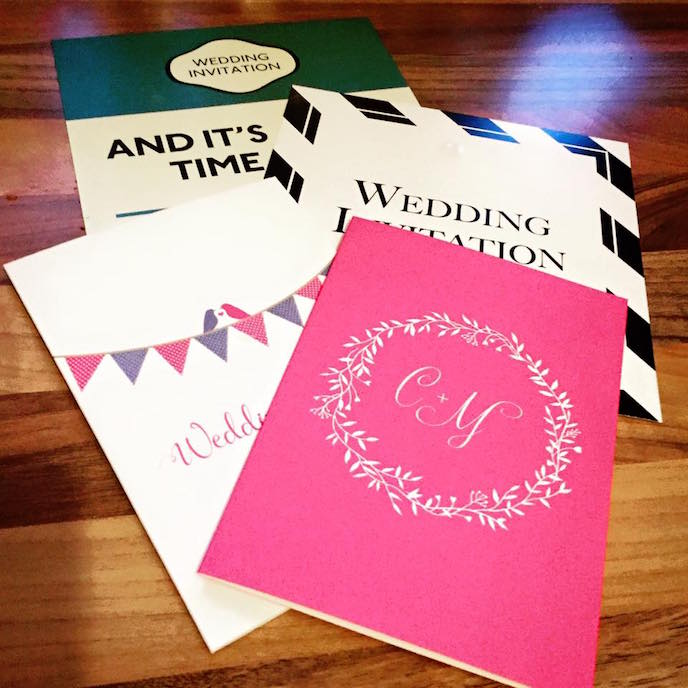 Friday Favourites August 2016: Wedding Collection samples Caledonian Cowgirl