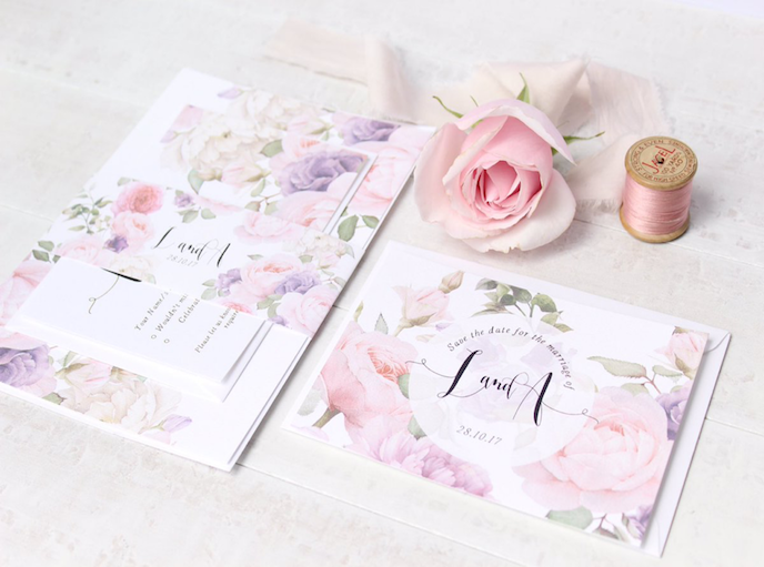 Printed.com July Edition 2016: Wedding stationery by Belo Paperie