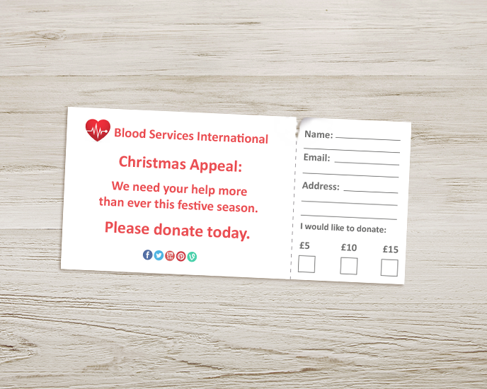 Donations and pledges: how can you use perforation from Printed.com