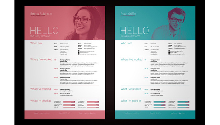 creative cv from creative market: How to land a design job?