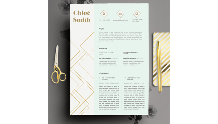 creative cv from Etsy: How to land a design job?