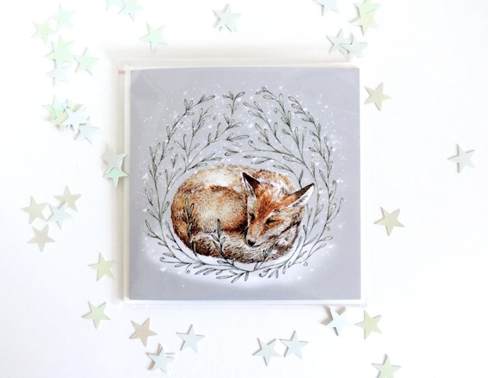 Friday's Favourites, Get into the Festive Spirit: Greeting cards by The Inky Deer