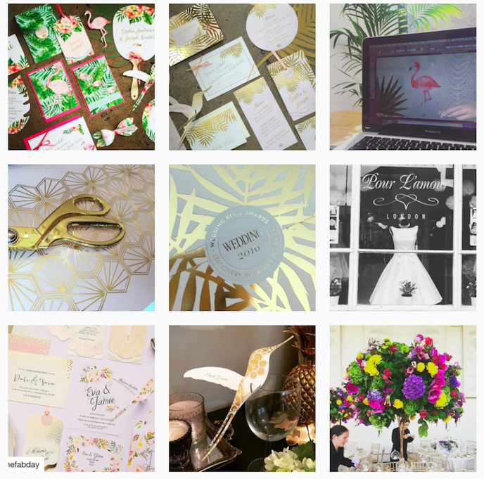 Eagle Eyed Bride Instagram Account stationers should be following