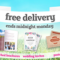 Free delivery Easter feast - get free delivery on a choice of 5 products