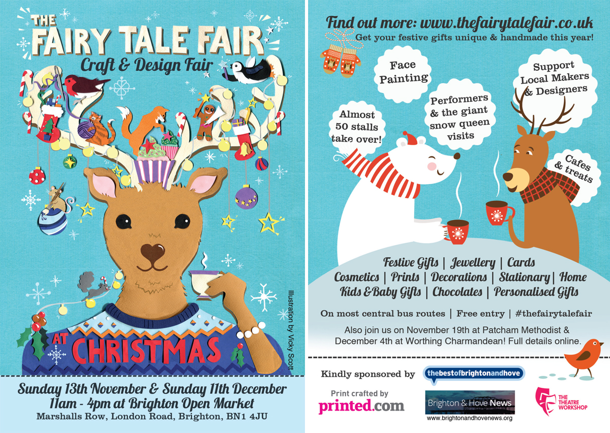The Fairy Tale Fair: Craft and Design Fair leaflet