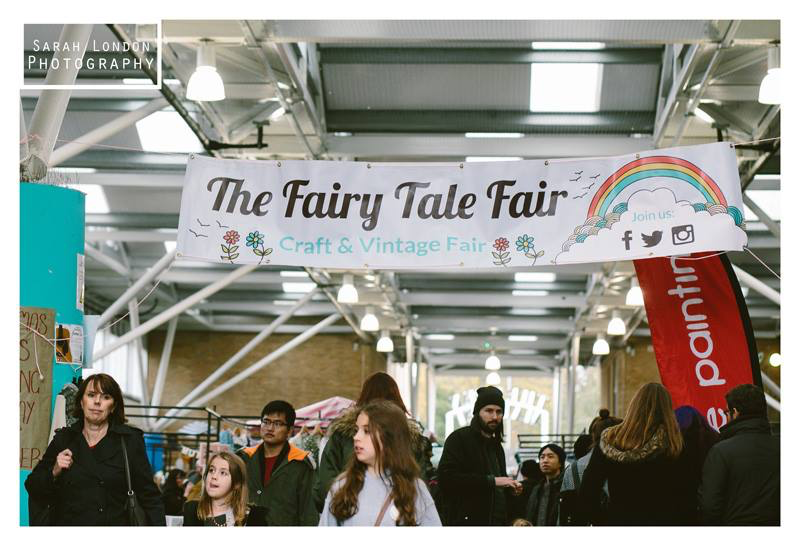 The Fairy Tale Fair craft and vintage fair banner
