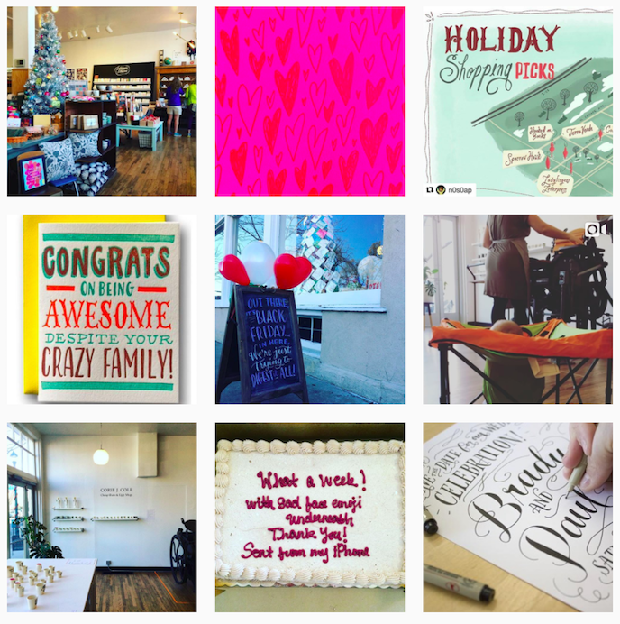 Ladyfingers Letterpress Instagram Account stationers should be following
