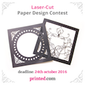 Laser-Cut Paper Design Contest