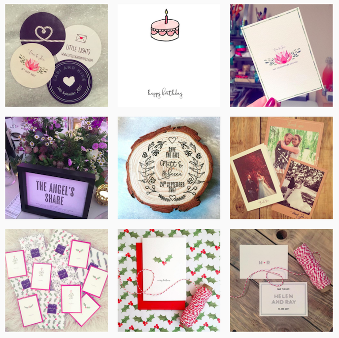 Little Lights Invites Instagram Account stationers should be following