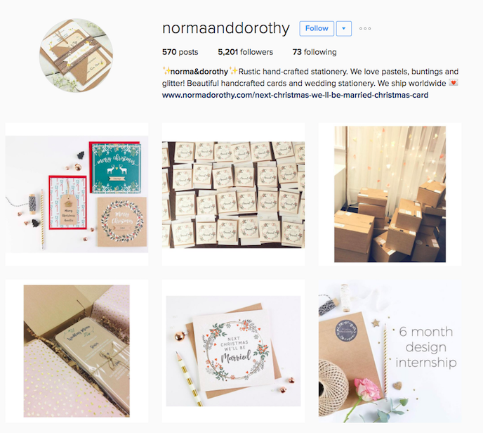 Norma & Dorothy Instagram Account stationers should be following