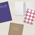 New product launch - branded notebooks