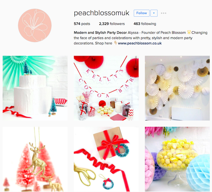 Peach Blossom Instagram Account stationers should be following