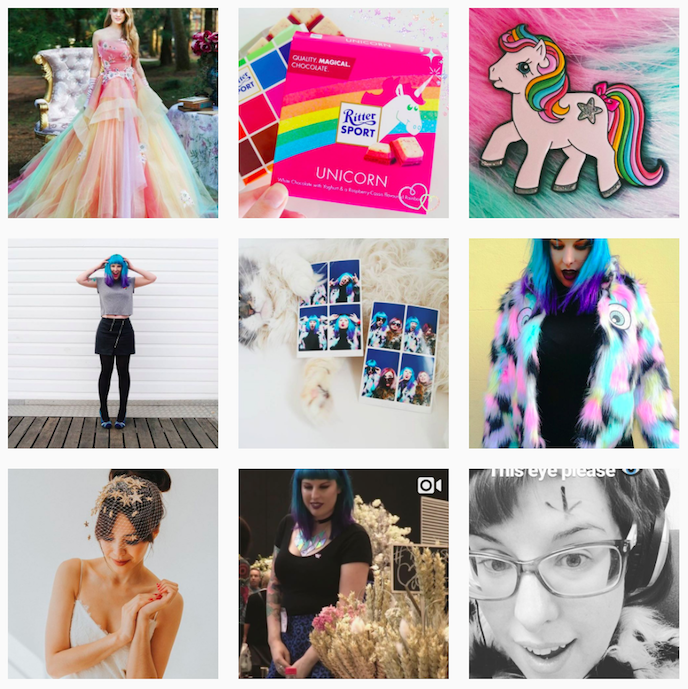 Rock n Roll Bride Instagram Account stationers should be following