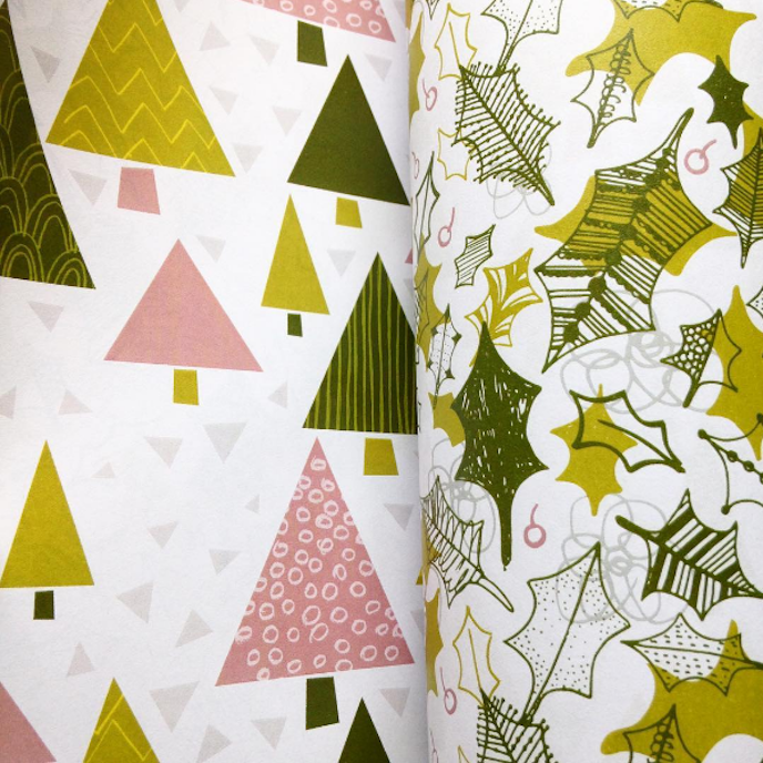 Printed.com July Edition 2016: Wrapping paper by Hollie Mcmanus