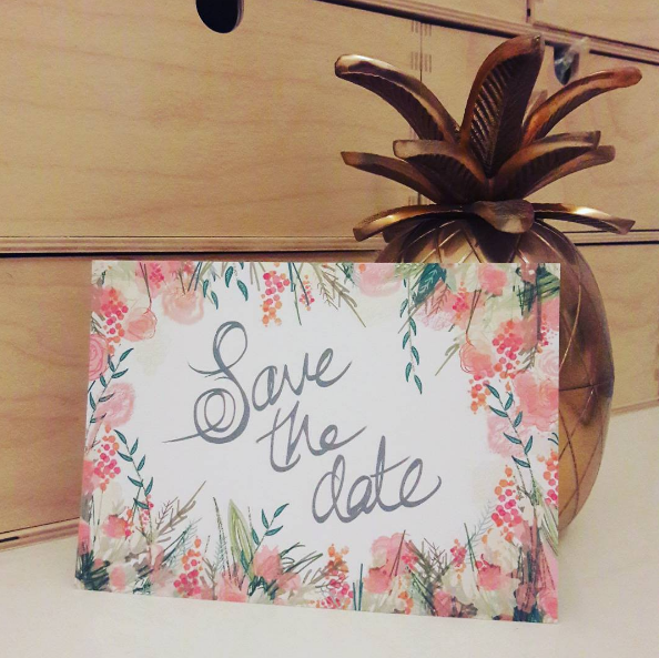 Wedding Stationery Showing Off: Save the dates by DanYELL