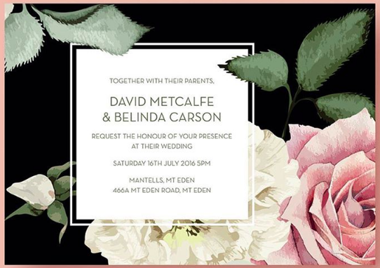 Wedding Stationery Showing Off: Wedding invites by Bezign Creative