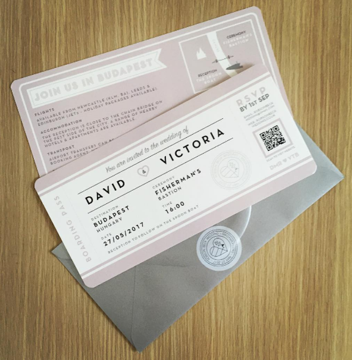 Friday Favourites August 2016: Wedding Invitations by David Robson