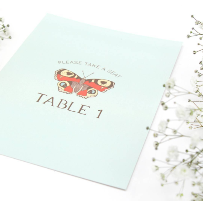 Friday's Favourites, Get into the Festive Spirit: Wedding stationery by Bea & Bloom