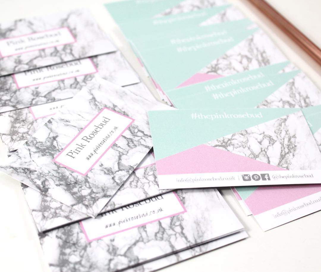 Friday's Favourites – Best of 2017: Business Cards by Pink Rosebud