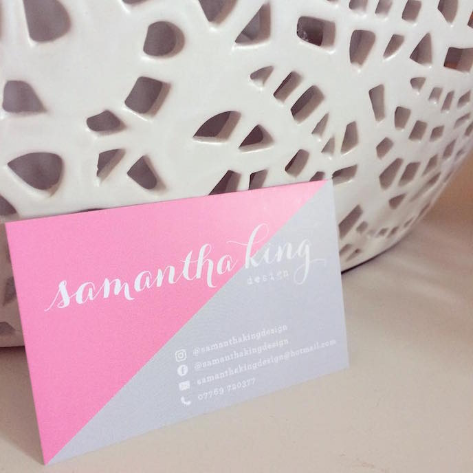 Friday's Favourites: Get your Fresh Design Fix: Business cards by Samantha King