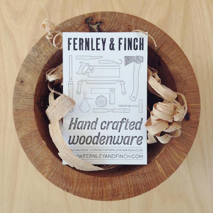 Friday's Favourites: Get your Fresh Design Fix: Business cards by Fernley & Finch