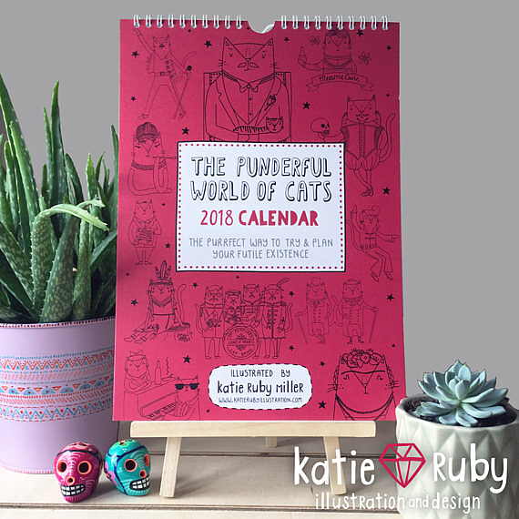 Friday's Favourites – Best of 2017: Calendars by Katy Ruby Miller