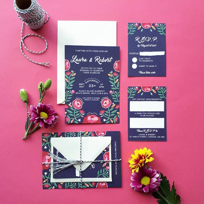Friday's Favourites: Happy Black Friday! Wedding Stationery by Good Hands