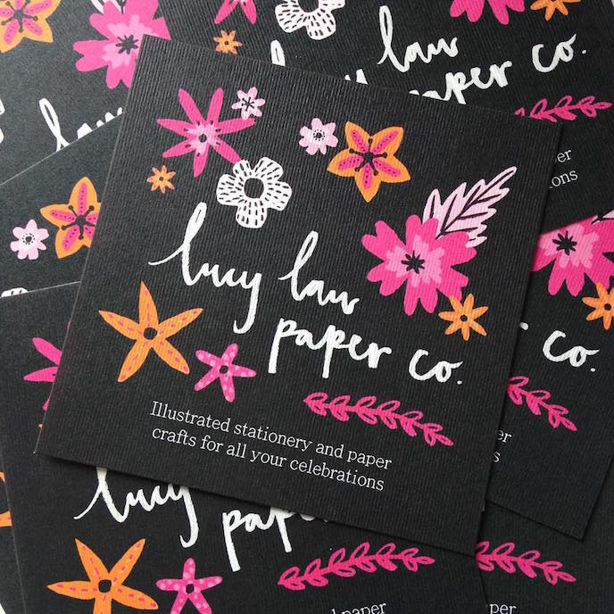 Friday's Favourites – Best of 2017: Leaflets/ Flyers by Lucy Law Paper