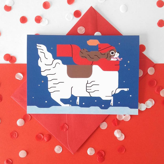 Friday's Favourites: Celebration Christmas Prints . Greeting Cards by Sophie Cunningham