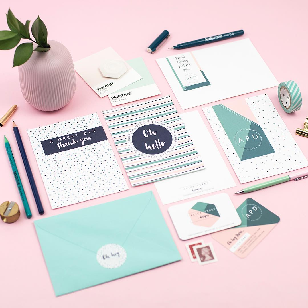 Friday's Favourites – Best of 2017: Business Stationery by Alice Perry Designs