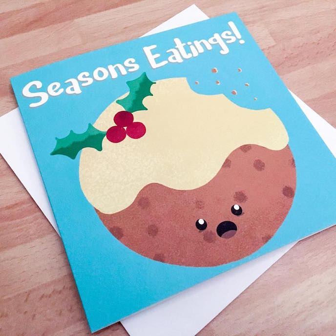Friday's Favourites: Celebration Christmas Prints . Greeting Cards by Bird House Press