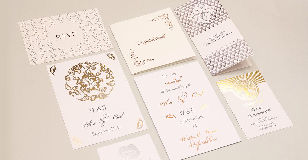 Foiling Printing Products: The Rise and Rise of Metallics Trends from Printed.com