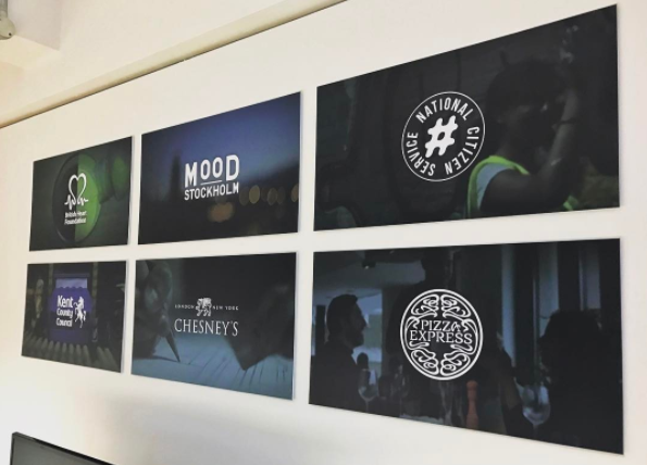 Fridays favourites printed blog this london and lincoln based film production company are super talented we absolutely love their client gallery theyve created with our display boards malvernweather Choice Image