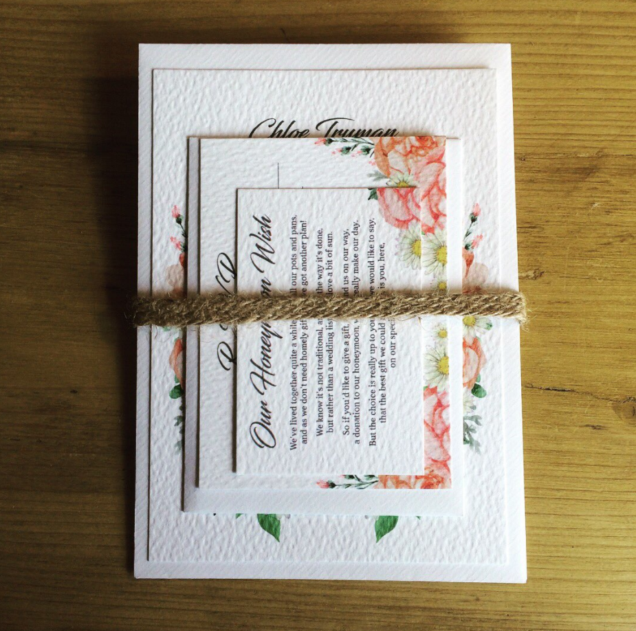 Friday's Favourites: Ready for Summer: Wedding stationery by White Rabbit