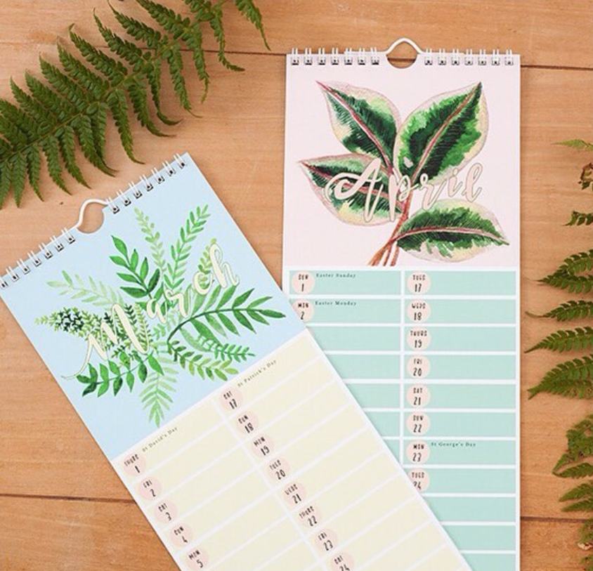 Calendars by Little Paisley Designs