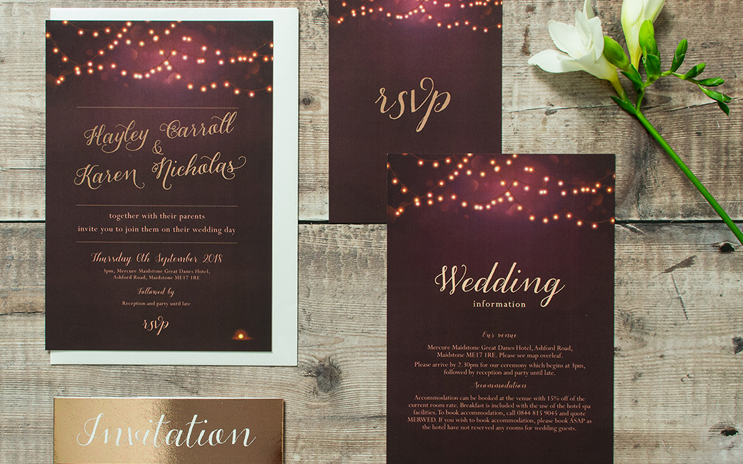 Visit ByBlossom Wedding Stationery